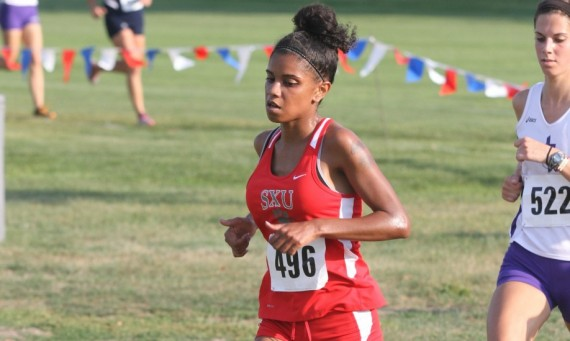 Junior Leslie Rosario led the Cougars Saturday with a 43rd place finish at the 2013 Greater Louisville XC Classic