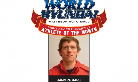 Junior Janis Pastars - February World Hyundai-Saint Xavier Athlete of the Month