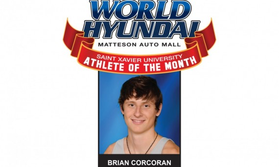 Senior Brian Corcoran - World Hyundai-SXU November Athlete of the Month