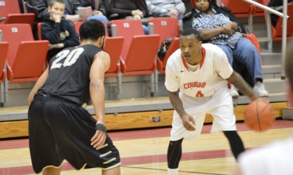 Senior point guard Michael Simpson had 26 points and 11 assists Wednesday against PUC