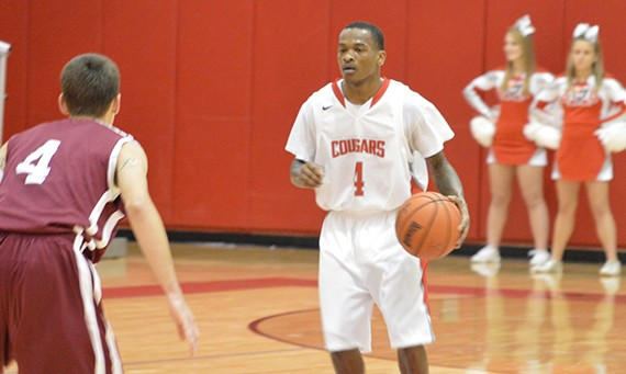 Senior Michael Simpson had 23 points and five rebounds for SXU Friday night