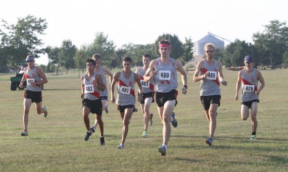 The Saint Xavier University men's cross country team had one of its best performances in team history Saturday