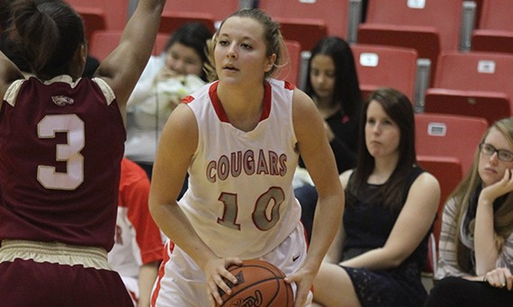 Junior forward Morgan Stuut - 2013-14 CCAC Women's Basketball Player of the Year