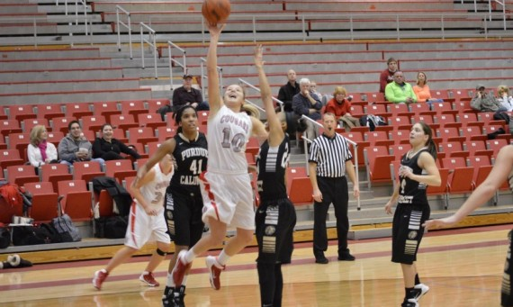 Junior Morgan Stuut posted her 19th double-double of the season Wednesday in a loss to PUC