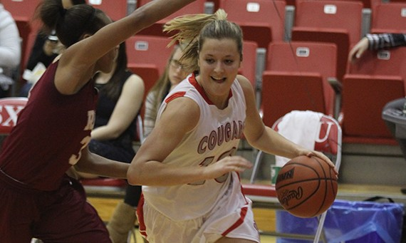 Senior Morgan Stuut had 21 points, 15 rebounds, seven assists and six steals against Saint Ambrose Sunday