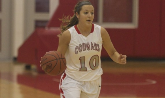 Junior Morgan Stuut had arguably one of the best games ever for a Cougar basketball player Saturday at Olivet
