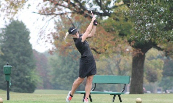 Freshman Taylor Thompson tied for 67th place out of 144 golfers after Tuesday's round of 18