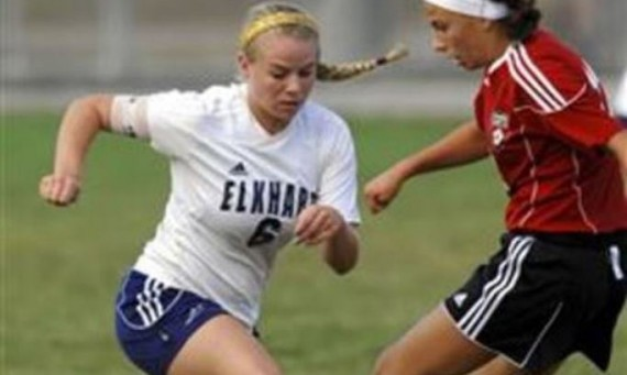 Elkhart Central's Brittney van der Hoek will join the Cougars in August 2014