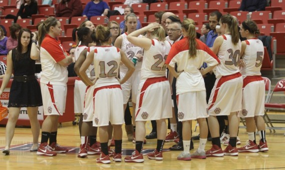 The SXU women's basketball team heads into the 2013-14 season with a No. 9 national ranking