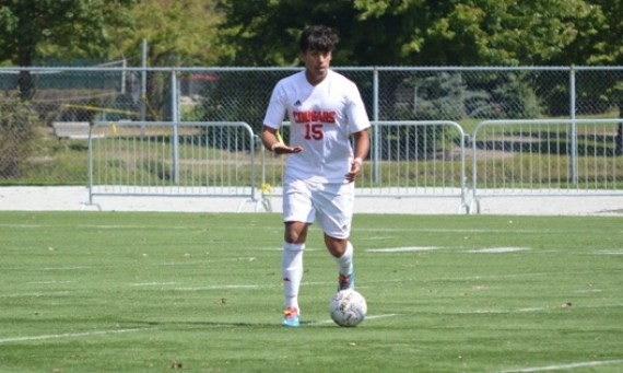 Freshman Ricardo Aldape scores his first collegiate goal in tough 2-1 double OT loss to Cornerstone