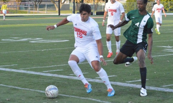 Freshman Ricardo Aldape had a huge night for SXU posting three goals and an assist in a 6-3 road win over USF