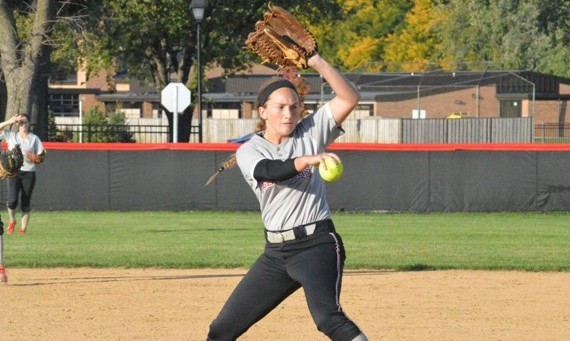 Sophomore Callie Brown moved her season record to 3-1 with a two-hit shutout for SXU Wednesday