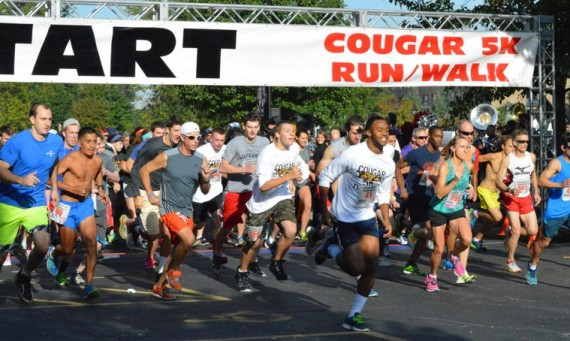 The 14th Annual Cougar 5K Run/Walk kicked off a fun-filled SXU Homecoming Day Saturday