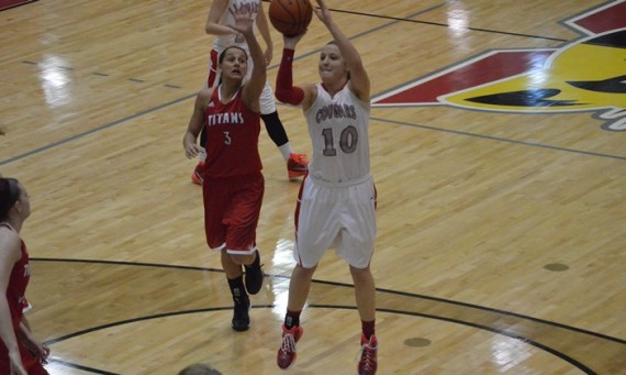Senior Morgan Stuut notched her 21st double-double of the season Wednesday with 20 points and 17 rebounds