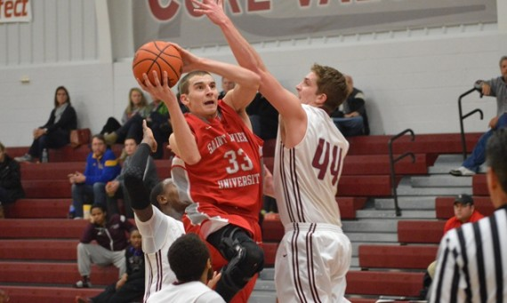 Senior Jack Krieger led the Cougars with 19 points in a Wednesday win over CCSJ
