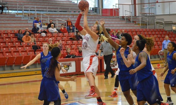 Senior Morgan Stuut - CCAC Women's Basketball Player of the Week