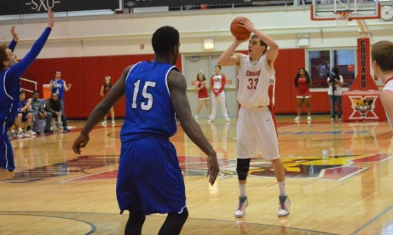 Senior Jack Krieger scored an amazing 43 points to lead Saint Xavier to a 90-80 win over TIU Saturday