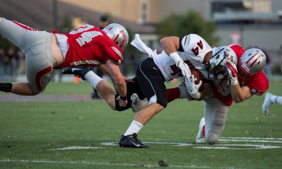 SXU Football moves up six spots to No. 10 in the first edition of the 2014 NAIA Football Top 25 Poll