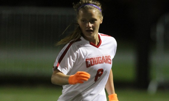 Sophomore Julia Gawlak led SXU Tuesday with a goal and assist in a tough 4-3 double OT road loss to USF