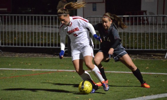 Sophomore Julia Gawlak scored Saint Xavier's only goal early in the second half Tuesday against Cardinal Stritch
