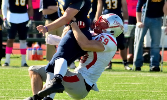 Senior Greg Hayward - 2014 AFCA NAIA Coaches All-America Selection