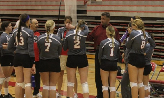 The SXU volleyball team completed its 2014 season Thursday with a loss to Cardinal Stritch in the CCAC Semifinals