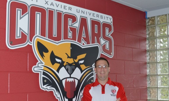 Rob Huizenga spent 14 years as SXU's SID