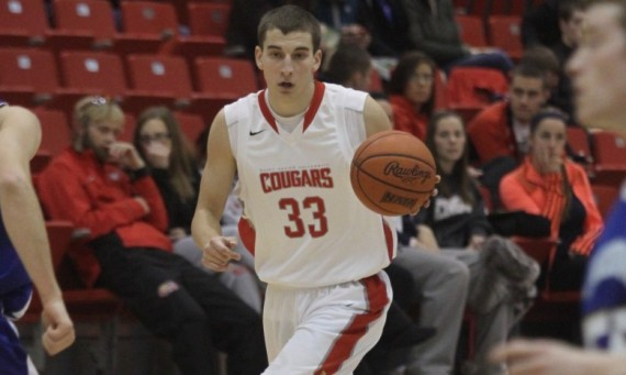 Senior Jack Krieger - CCAC Men's Basketball Player of the Week