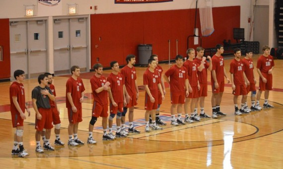 The Cougars fell to No. 5 Saint Ambrose (Iowa) in three sets Friday night in Iowa