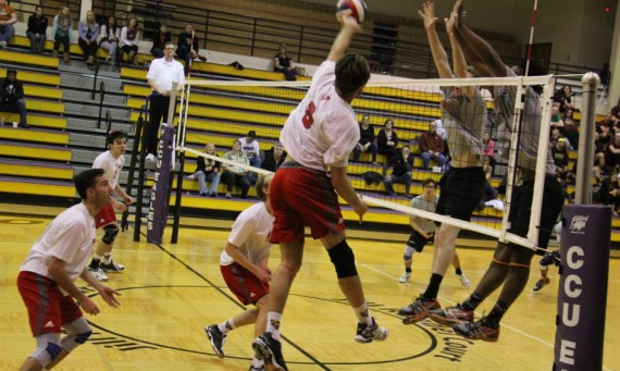 The SXU men's volleyball team fell to No. 1 seed Lourdes (Ohio) Saturday, but completed its best season to date