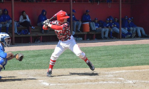 Sophomore Ryan Pellack had a combined five hits and four RBI against TIU Saturday
