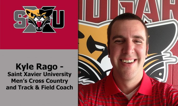 Kyle Rago was named the new men's cross country/track & field coach at SXU Friday