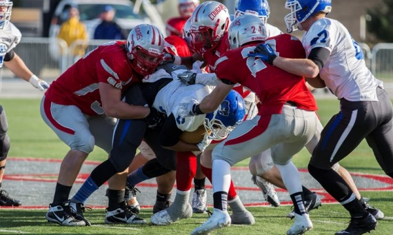 The SXU defense held No. 6 Lindsey Wilson to just 17 points in Saturday's quarterfinals victory