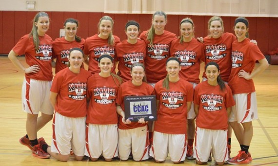 Saint Xavier owns the No. 1 seed in next week's CCAC Tournament and will play at 5 p.m. Wednesday at the Shannon Center