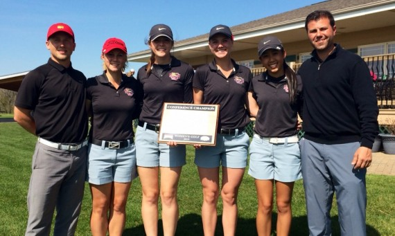 The SXU women's golf team won the CCAC Championships and head to Nationals in just the program's second year!