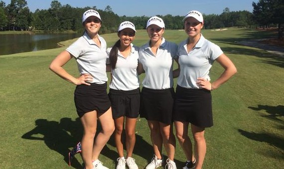 The SXU women's golf team sits in 23rd place after two rounds of play at the 2015 NAIA National Championship in Ga.