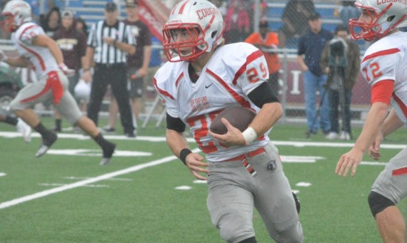 Sophomore Stephen Simms had 13 catches for 109 yards and a touchdown Saturday for SXU
