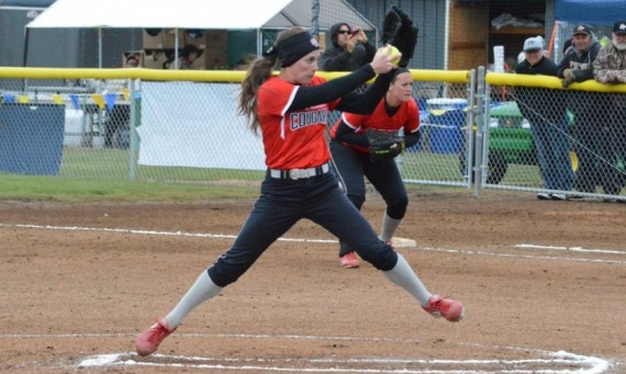 Junior Nicole Nonnemacher tied a NAIA Opening Round record with 17 strikeouts in a 3-0 win over Avila (Mo.) Tuesday