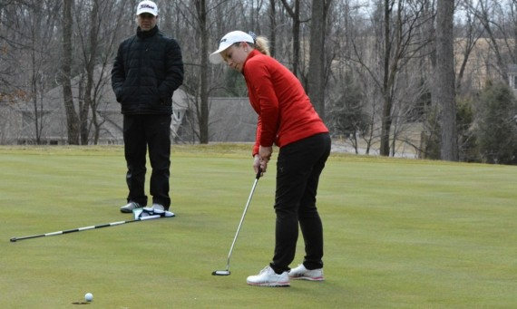 Sophomore Taylor Thompson took second at the Pilot Spring Invitational with two rounds of 74