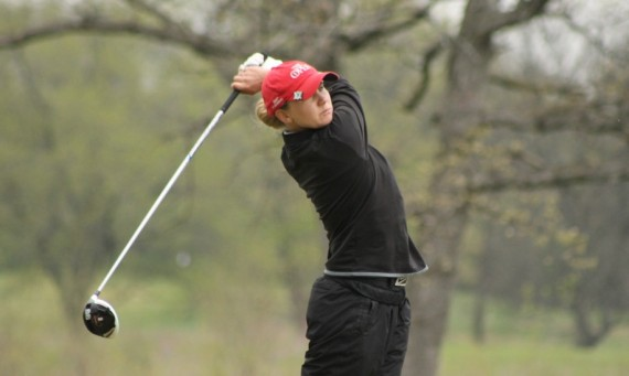 Junior Taylor Thompson earned first team honors on the CoSIDA All-District At-Large Team and All-CCAC Women's Golf Team