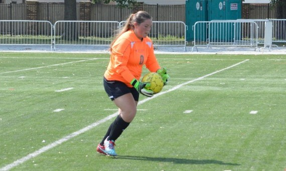 Freshman Carly Bledsoe had seven saves to highlight SXU's 1-0 road loss to Judson Saturday afternoon