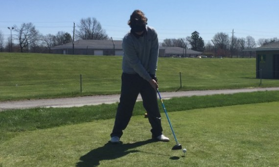 Freshman Mickey Brick shot a round of 78 Monday to lead SXU Men's Golf at the 2016 CCAC Championships