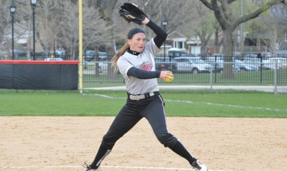 Senior Callie Brown had eight strikeouts and allowed just one hit in a shutout for a 1-0 win for No. 2 Saint Xavier