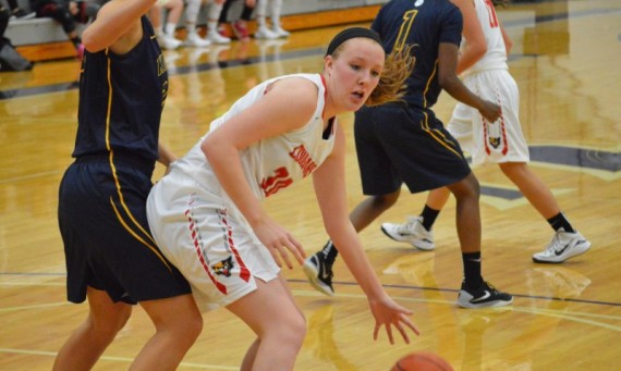 Sophomore Brittany Collins had 13 points, five rebounds and four blocks to help No. 3 SXU defeat No. 9 Marian, 81-67