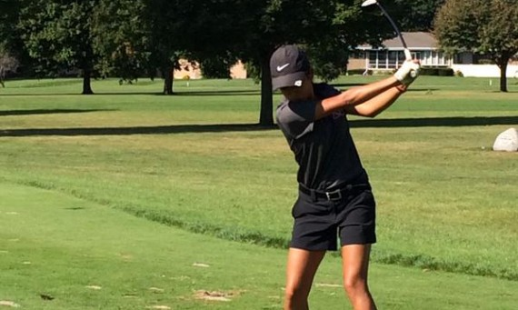 Junior Hannah Cruz led the Cougars with a round of 78 on Sunday in Iowa