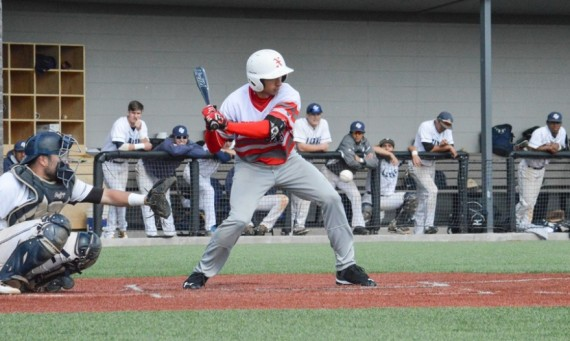 Freshman John Constantino went 2-for-3 in Tuesday's 3-1 loss to Clarke (Iowa) in the NAIA Opening Round in Michigan