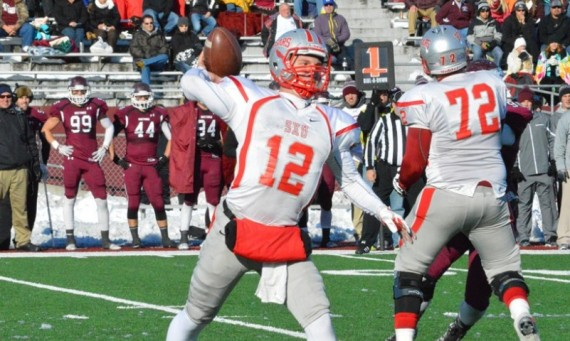 Junior John Rhode tied a SXU and NAIA FCS record with seven TD passes in a tough 75-69 4OT loss to No. 1 Morningside