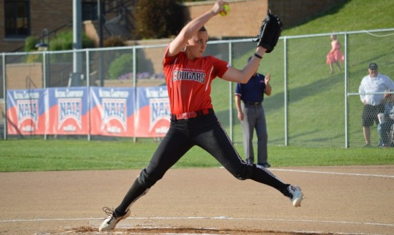 Senior Nicole Nonnemacher was named the NAIA Softball National Pitcher of the Year for the third time in her career Friday