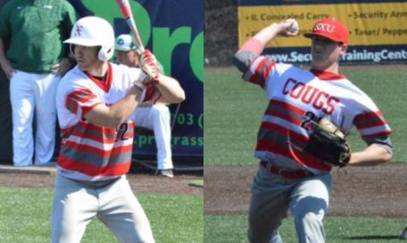 Sophomor Erik Eggert and Freshman Brett Smith claim CCAC Honors