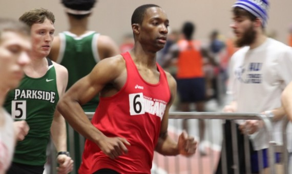 Senior Rexford Wiafe qualified for the NAIA Indoor Track & Field National Championships in the 800 meter run Saturday